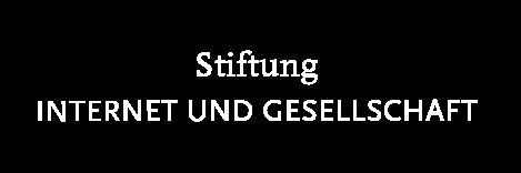 Stiftung Internet und Gesellschaft